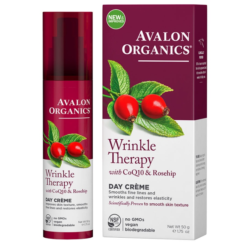 Avalon Organics Coq10 Wrinkle Defense Creme 1.75 Fl. Oz.