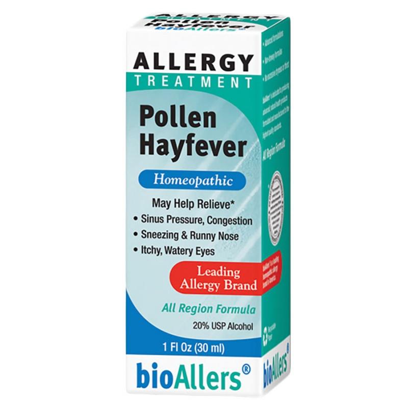 Bioallers Pollen Hayfever Allergy Treatment 1 Fl. Oz.