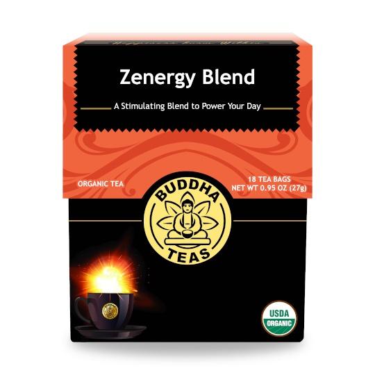 Buddha Teas Zenergy Organic Premium Tea Blend 18 Tea Bags