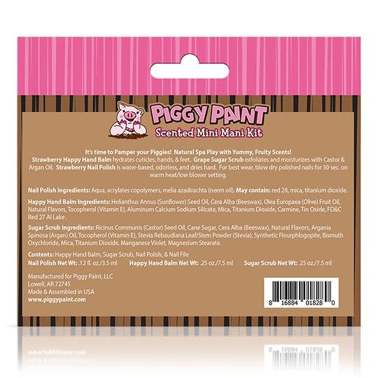 Piggy Paint Gift Sets Mini Mani Kit