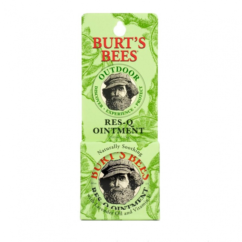 Burt's Bees Res-q-ointment Tin In Blister Box 0.60 Oz.