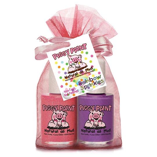 Piggy Paint Rainbow Sprinkles Nail Polish Gift Set