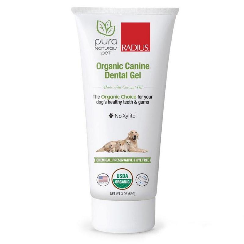 Radius Organic Xylitol- Free Dental Gel Canine Toothpaste 3 Oz