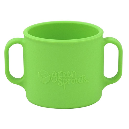 Green Sprouts Green Silicone Learning Cup 7 Oz.
