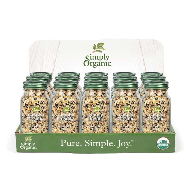 Simply Organic Everything Blend Countertop Display 15 Ct
