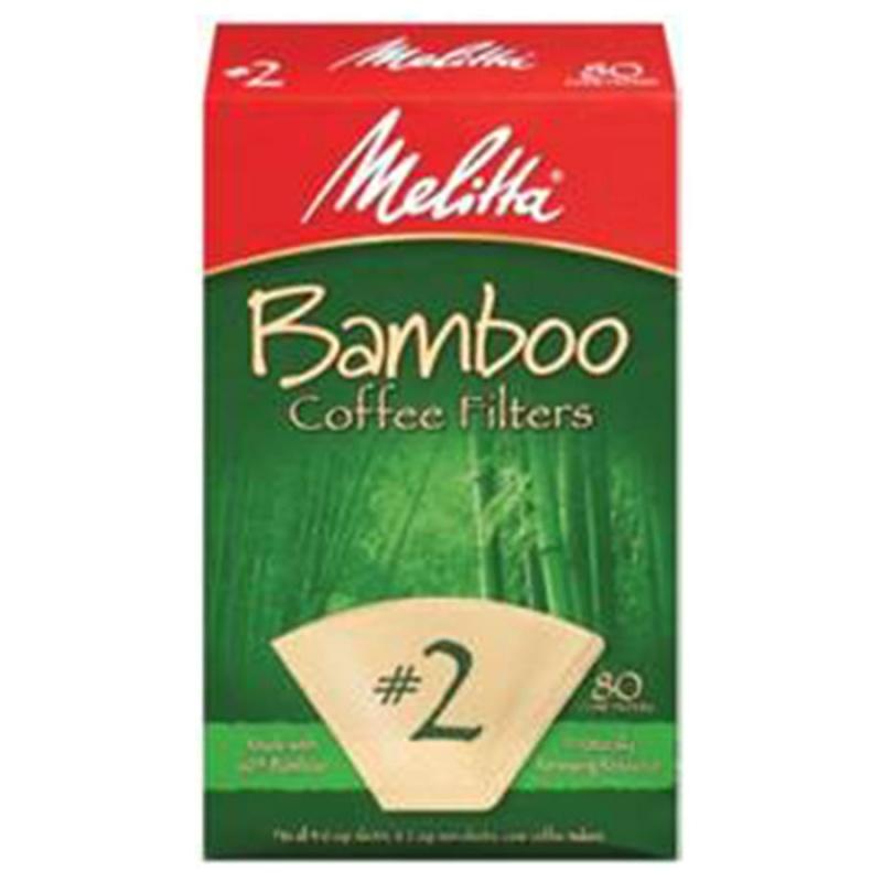 Melitta Bamboo #2 Cone Coffee Filters #2 Cone