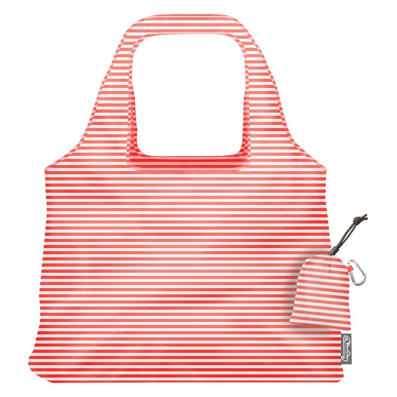 Chico Bag Vita Coral Strip Shopping Bag