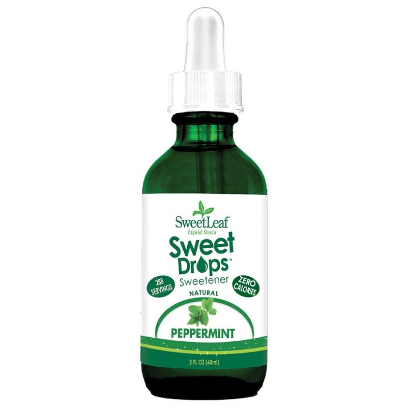 Sweetleaf Peppermint Sweet Drops 2 Fl. Oz.