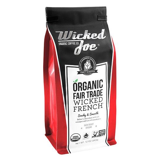 Wicked Joe Coffee Wicked French Roast 12 Oz.