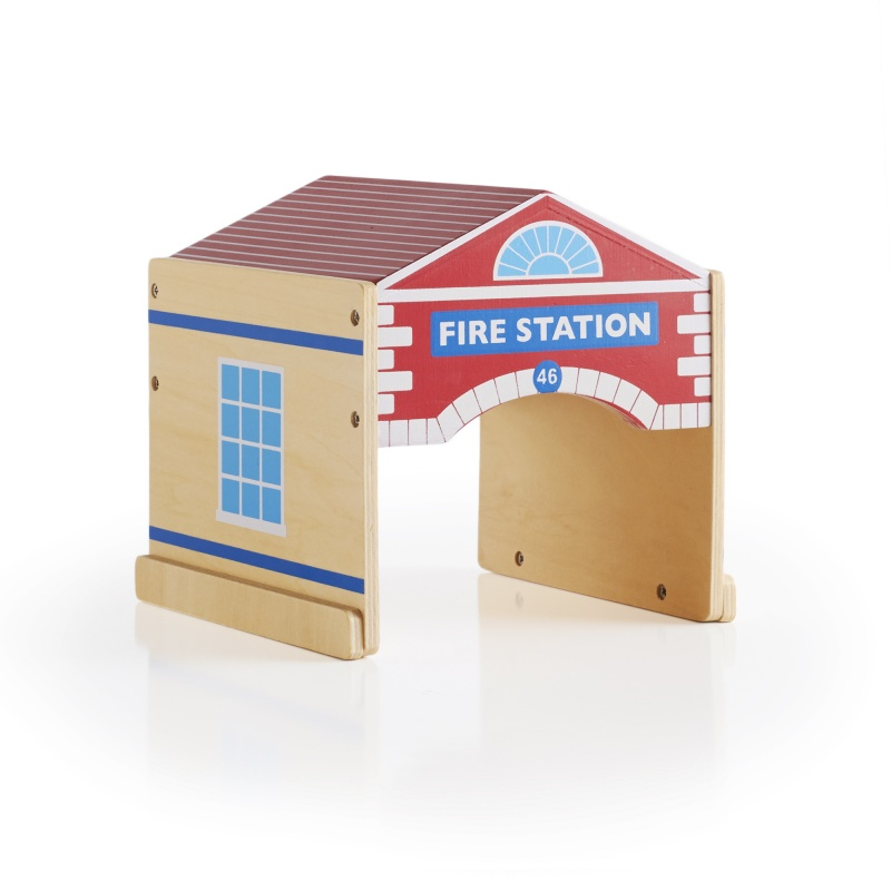 Guidecraft Community Buildings Set 6 Pc
