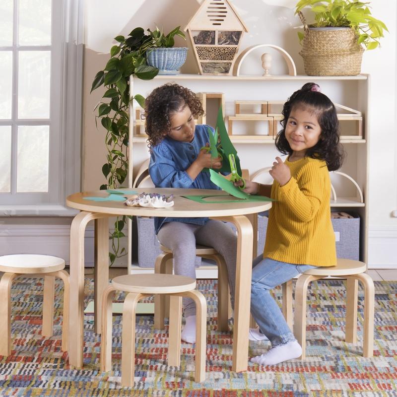 Kids' Nordic Table Set – Natural