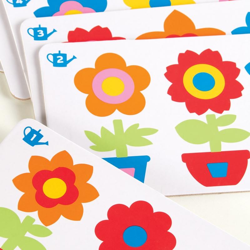 Guidecraft Flower Pot Sort & Match