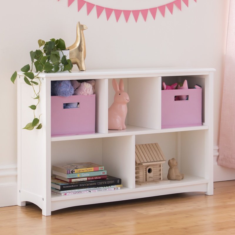 Guidecraft Classic Bookshelf – White