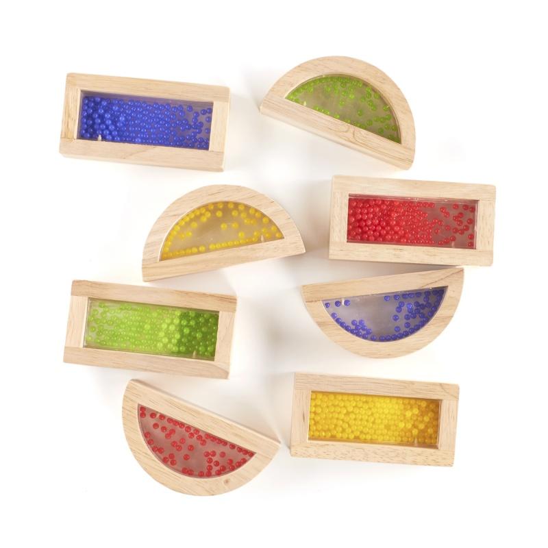 Guidecraft Rainbow Blocks – Crystal Bead