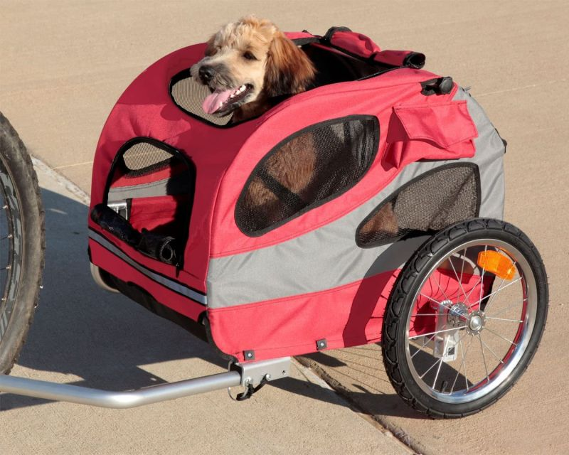 Houndabout Classic Bicycle Trailer - Medium (steel) 31 Lbs