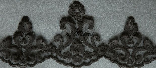 Illusions Bridal Lace Edge Veil 7-451-3L