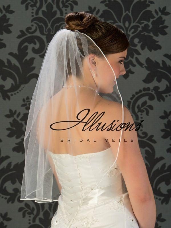 Illusions Bridal Soutac Edge Veil 5-251-ST