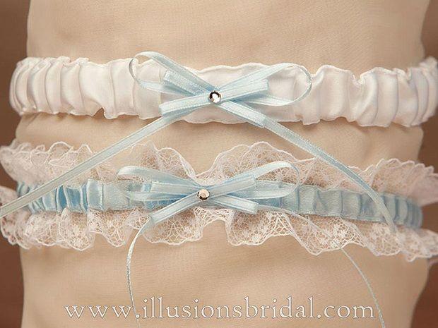 Illusions Bridal Garters and Purses 1015