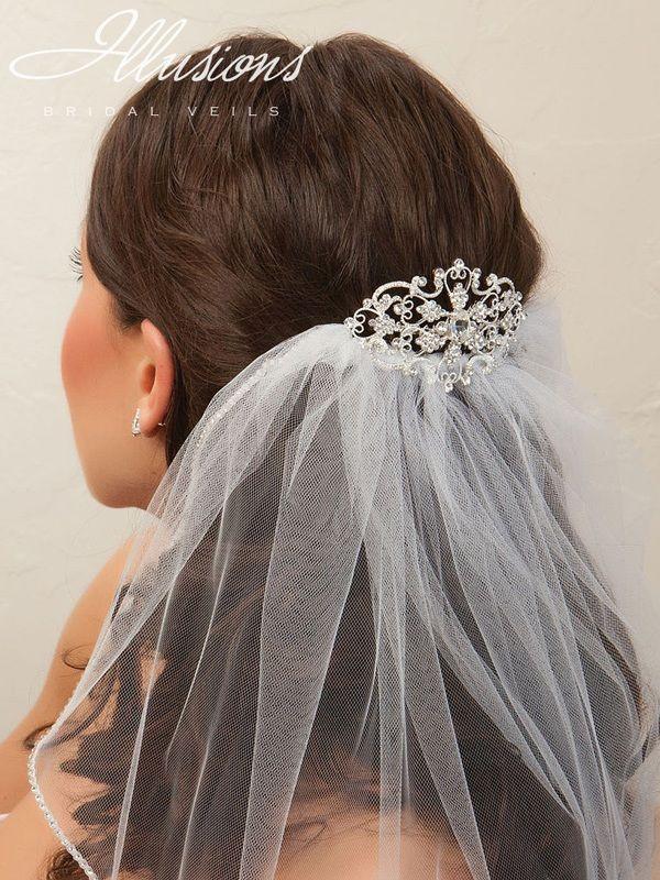 Illusions Bridal Hair Accessory 2870: Rhinestone