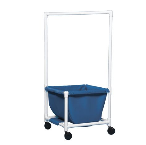 Laundry Hamper With Clothes Rod