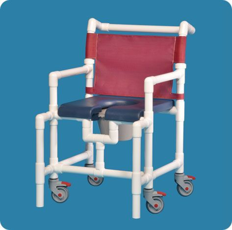 Midsize Shower Chair Commode