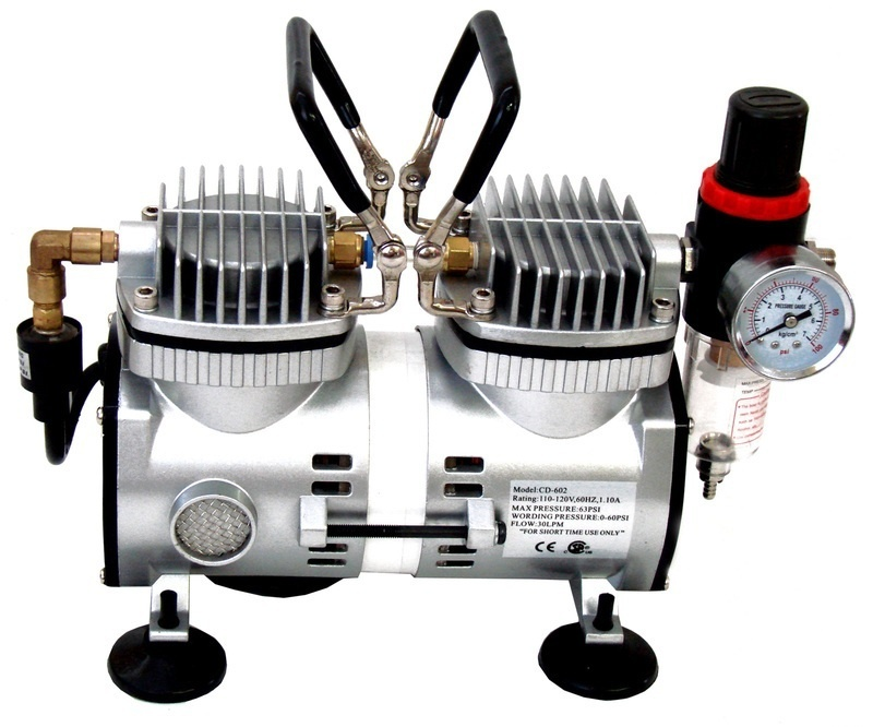 Inovart WAC2000 1/6 HP Mini Air Compressor with Auto Shutoff
