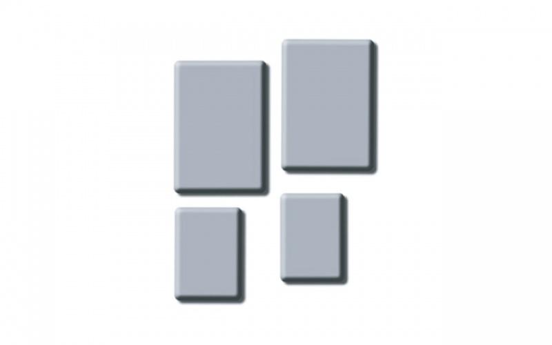 """knead-it"" Kneaded Rubber Erasers Inovart Kneaded Erasers Medium Size 1-1/4"" X 3/4"" X 1/4"" 36 Per Package"