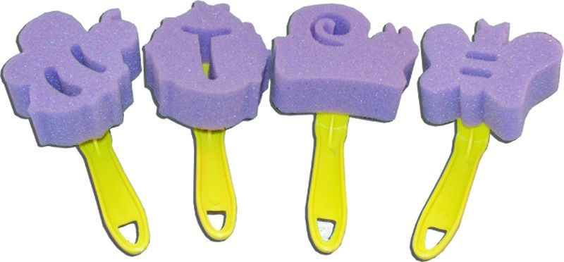 Inovart Paint Dabbers - Butterfly And Bug Set