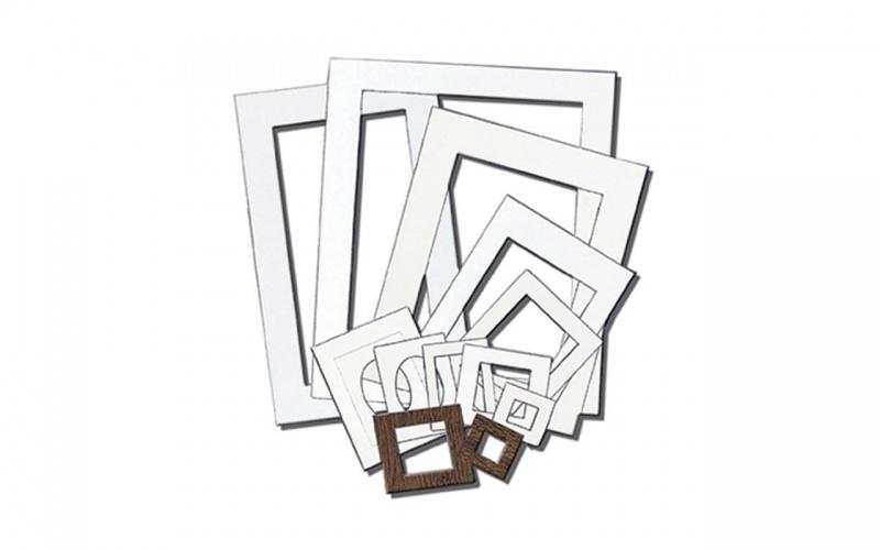 """picture It"" Pre-cut Mat Frames Inovart Mat Frames, 5 By 7-inch, White, 12-pack"