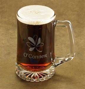 Shamrock Beer Mug