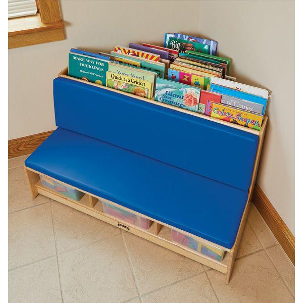 Jonti-Craft®Corner Literacy Nook - Blue