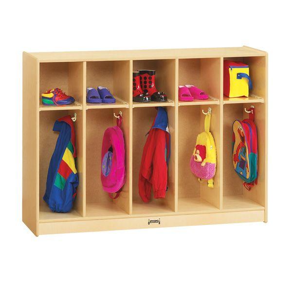 Jonti-Craft®Toddler 5 Section Coat Locker