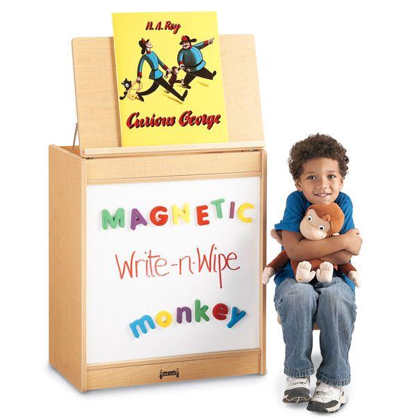 Maplewave®Big Book Easel - Magnetic Write-N-Wipe