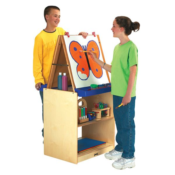 Jonti-Craft® School Age 2 Station Art Center