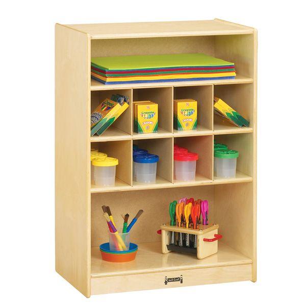 Jonti-Craft®Mobile Block Shelf