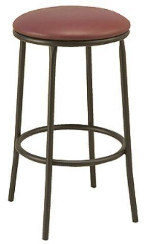 "KFI BR3200-WS ""3200"" Series Barstool with Wood Seat"