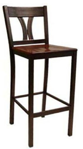 """KFI BR3902-US """"3900"""" Series Chair with Upholstered Seat: Without Arms"""