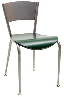 """KFI 3818LC-US """"3800"""" Series Cafe Chair with Upholstered Seat: Without Arms"""