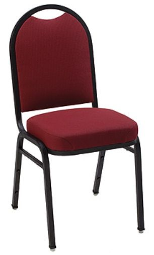 """KFI """"1530"""" Series Stack Chair with Grade 3 Fabric: 3"""" Seat, Without Arms"""