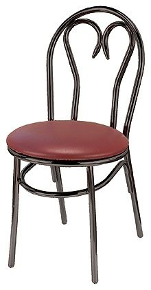 """KFI 3220-WS """"3200"""" Series Cafe Chair with Wood Seat"""