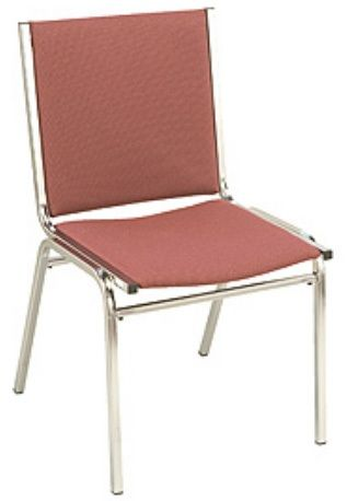 """KFI 410 """"400"""" Series 1"""" Seat Stack Chair with Grade 2 Fabric"""
