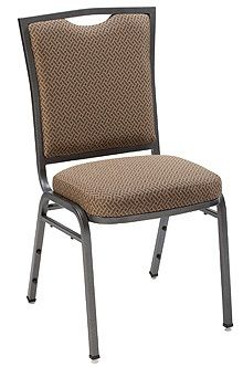 """KFI 1839 """"1830"""" Series Stack Chair with Vinyl Fabric: 3"""" Seat, Without Arms"""