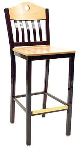 """KFI BR3990A-WS """"3900"""" Series Chairs with Wood Seat: Without Arms"""