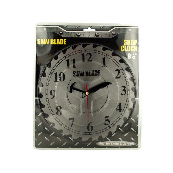 Saw Blade Shop Clock