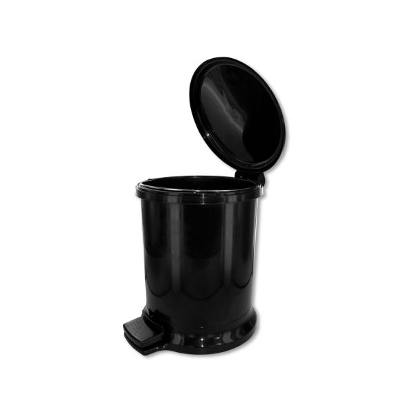 Trash Can With Removable Bucket And Footstep