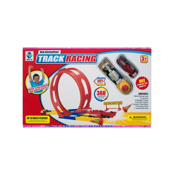 Super Loop Race Track With Car