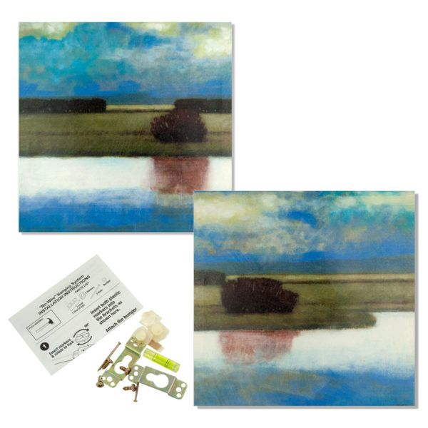 Crystal Bay Landscape Wrap Canvas Art