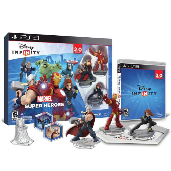 Disney Infinity 2.0 Toy Box Starter Pack, Pack Of 2