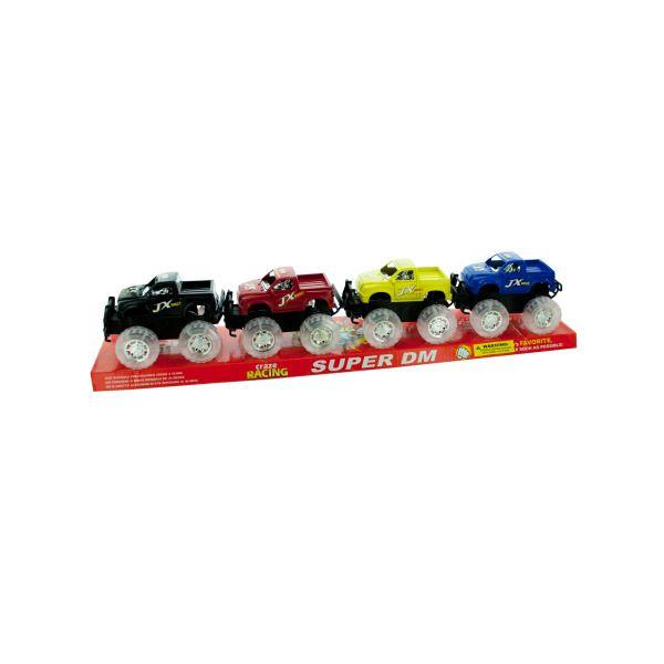 4 Pack Friction Trucks