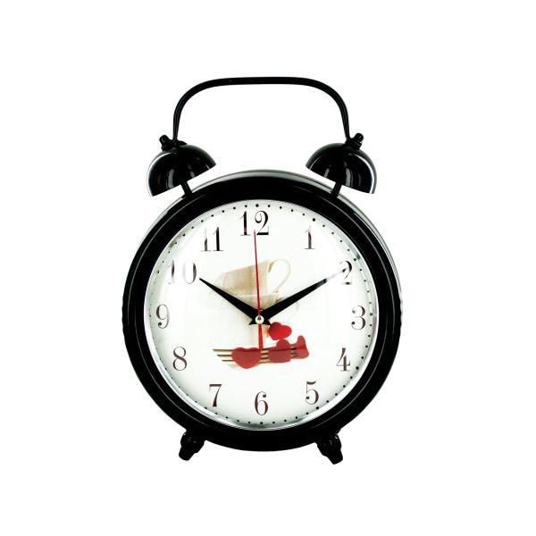 Decorative Metal Desk Clock